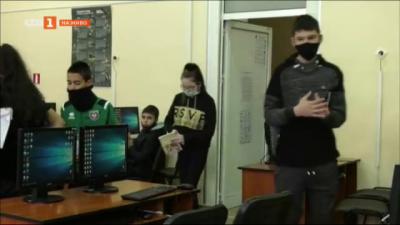 На училище във Враца в пандемията