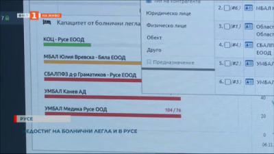 Създадоха и дариха приложение за свободни легла в болниците в Русе