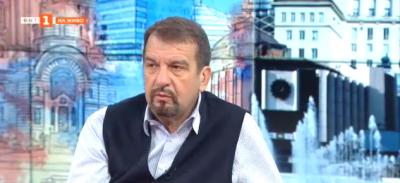 Журналистът Ники Кънчев пред Георги Любенов