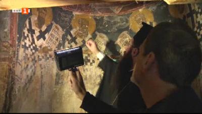 Реставрират стенописите в храма Св. св. Петър и Павел край Драгоман