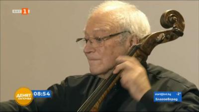 Кавалерът на виолончелото Стефан Попов специално пред БНТ
