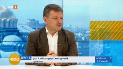 Д-р Симидчиев: Не можем да очакваме за десет дни да се промени смъртността заради наложените мерки