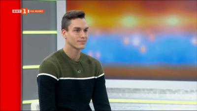 Младата надежда на българското плуване Калоян Лефтеров