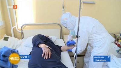 Екип на БНТ в болницата в Русе