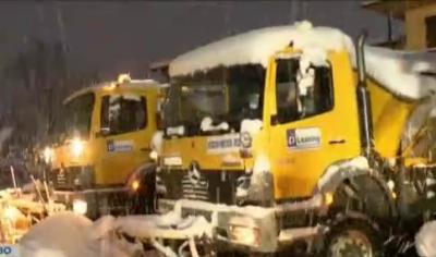 Колко машини са готови да чистят снега във Велико Търново?