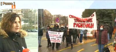 Кондукторите във Варна на пореден протест срещу предстоящите съкращения
