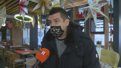 Ресторантьор от Кюстендил не е съкратил никой от персонала си въпреки COVID кризата