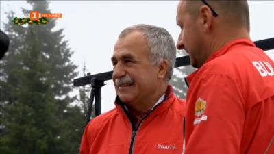 Глобиха федерацията по биатлон, треньорът Касперович хванат без маска