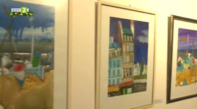 Изложба живопис и акварел По залез на Любен Зидаров
