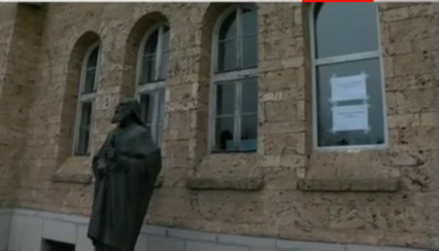 Ремонт на емблематичната галерия скара обществеността във Велико Търново