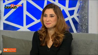 Звездите на БНТ 100% будни пред Мария и Стефан: Анна Ангелова от Култура.БГ