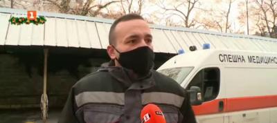 Доброволци помагат на медиците в Спешна помощ във Варна