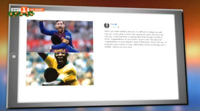 Светът на спорта през социалните мрежи