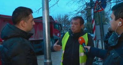 Улици в Пловдив потънаха в кал заради мащабен ВиК ремонт