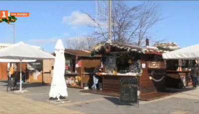 Коледните къщички в Бургас са пред фалит
