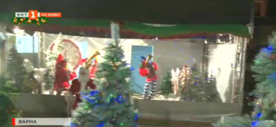 Ледени вълшебства в приказната гора на Дядо Коледа във Варна