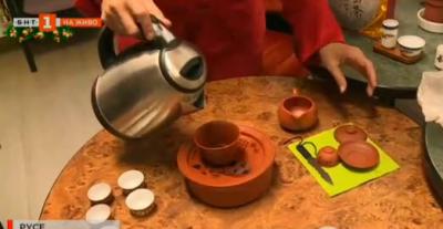 Международен ден на чая. Тай Чи церемония по пиене на азиатски жив чай в Русе