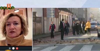 Българка за земетресенията в Хърватия: В рамките на 50 часа имаше над 40 труса