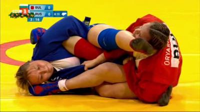 Мария Оряшкова с рекордна шеста световна титла по самбо