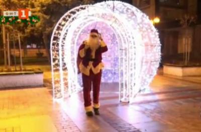 Един специален Дядо Коледа обикаля Горна Оряховица с кауза