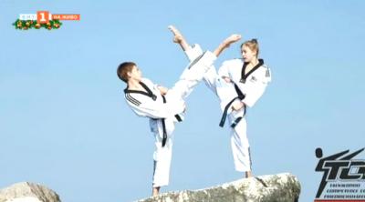 Таекуондо и хуожествена гимнастика в едно - онлайн състезание