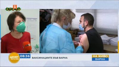 Около 40% от лекарите и мециците във Варна имат желание да се ваксинират