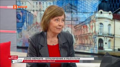 Доц. Велизарова: Ако искаме да се справим преди края на годината с Covid епидемията, трябва да се ваксинират 2 млн.