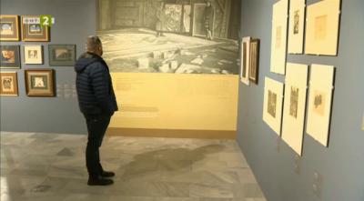 Изложбата Пенчо Георгиев. Между театъра и живота