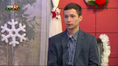 Александър Димитров, който учи чужденци на български език и култура