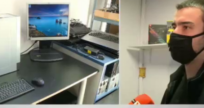 Варненец подарява компютри, сглобени от стари части