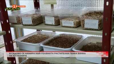 В Садово се намира най-голямата растителна генна банка на Балканите