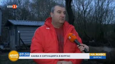 Наводнени къщи и материални щети, след като р. Маринка излезе от коритото си