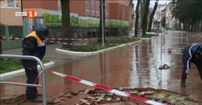 Варненска улица пропада за трети път след основнен ремонт