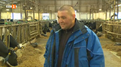 Тодор Ванев - управител на ферма в с. Желязно, общ. Марица