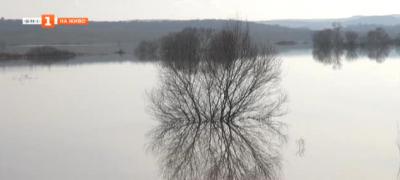 Земеделски земи  в Бургаско са под вода