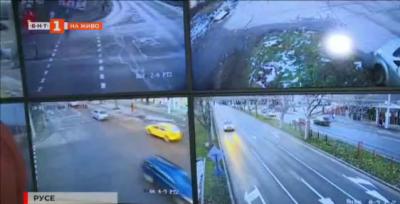 Денонощно видеонаблюдение в Русе