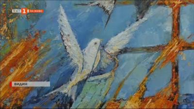 Видински художник нарисува картина, с която да вдъхне вяра за спасение от пандемията