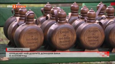 Награди за най-добрите домашни вина в Асеновград