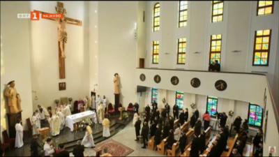 Историческо събитие за католическата църква в България