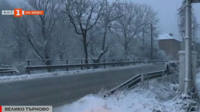 Обилен снеговалеж на Хаинбоаз