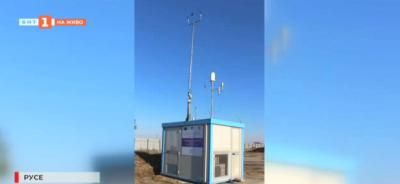 Подвижна автоматична станция за измерване качеството на въздуха в Русе