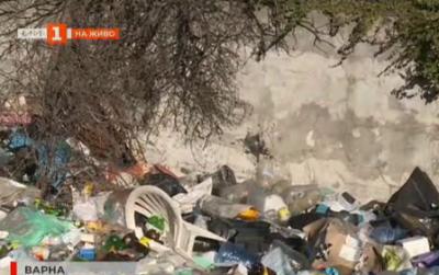 Разчистват незаконни сметища в Аспарухово край Варна