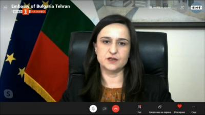 Николина Кунева, посланик на България в Иран: България винаги е подкрепяла търсенето на решения на иранския ядрен въпрос по дипломатически път