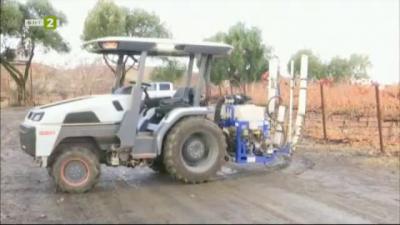 Смарт трактор - иновация в земеделието
