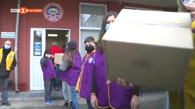 В Русе продължава акцията в подкрепа на бездомните с помощ от децата