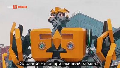 Живите роботи в София