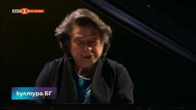 Световноизвестната пианистка Елизабет Леонская гостува на Софийската филхармония