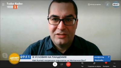 Тодор Радев, Пекин: Възможно е коронавирусът да е внесен в Китай чрез замразени храни