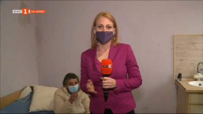 Жена остана без дом след пожар