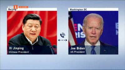 Първи разговор на Байдън с китайския президент